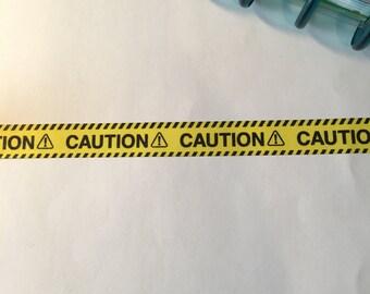 CAUTION! Washi Tape Sample