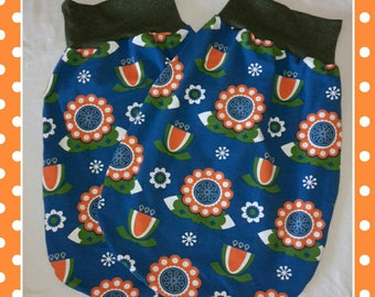 """Newborn bag """"Flowers"""" 0 to about 4-5 months twins"""