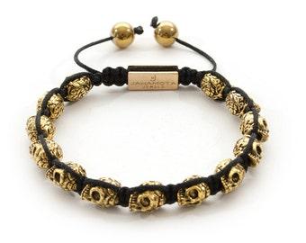 Jahamota Spiritual Bracelet - Golden Treasure