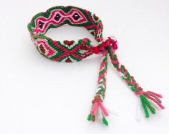 Boho Woven Friendship Bracelet