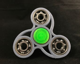 Fidget Spinner - Classic Tri-bar Style Wave