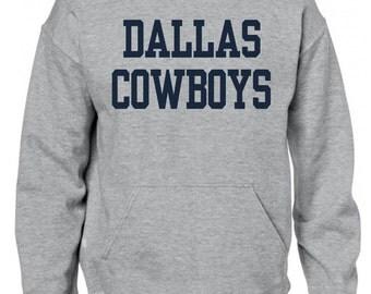 DALLAS COWBOYS jersey pullover hooded sweatshirt - custom made