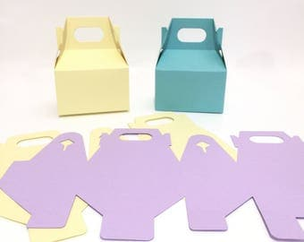 DYI Favor Boxes | Do it yourself | Favor Boxes | Gable Boxes | Colored Favor Boxes | Birthday Favors