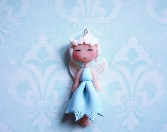 Magical collection: fairy Crystal disney doll necklace