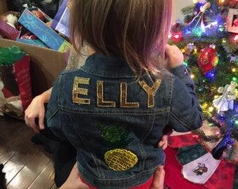 Baby Style: Custom Denim Jackets, Vests, Onesies!
