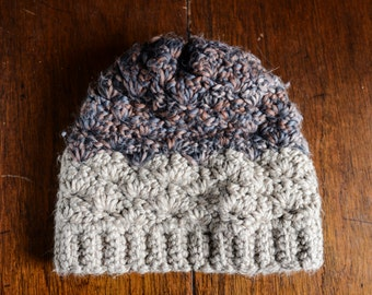 Tan/Multicolor Chunky Winter Hat