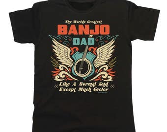 Worlds Greatest BANJO Dad