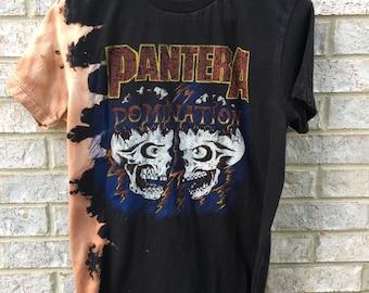 Vintage Inspired Bleached Pantera Shirt