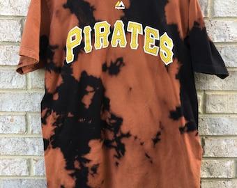 Bleached Pittsburgh Pirates Baseball Josh Harrison Shirt
