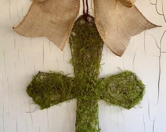 Cross Wreath   Spring Wreath   BEST SELLER   Cross Door Hanger   Easter Wreath