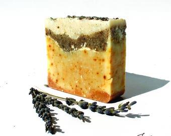 Lavender & Lemongrass Home Made Natural Soap