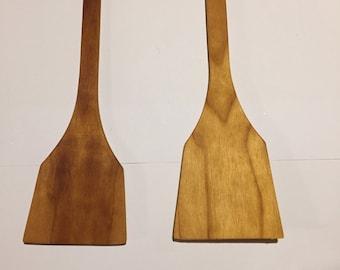 ash wood spatula