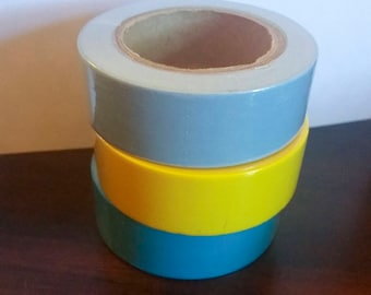 Solid Color Washi Tape --multiple colors to choose from-- ONE ROLL