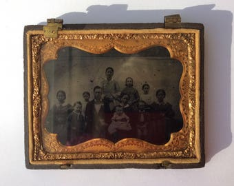Civil War era daguerrotype