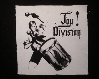 Joy division patch post punk goth new wave