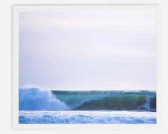 Wave at Ocean Beach San Francisco,  framed print.