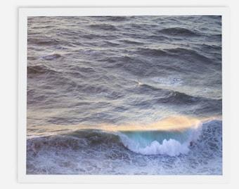 A Wave, Big Sur California framed print