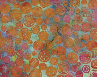 Island Batik Spoolin' Around - Buttons Batik - Sold by the Yard