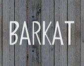 ON SALE | Barkat Calligraphy Font