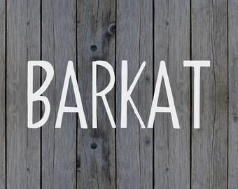 ON SALE   Barkat Calligraphy Font