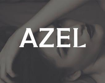 Azel Serif Typeface