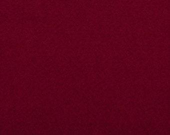 Felt - craft felt, Maroon / red / rose-red 1 mm 40 x 45 cm