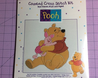 Best Friends - Winnie the Pooh Cross-Stitch Kit