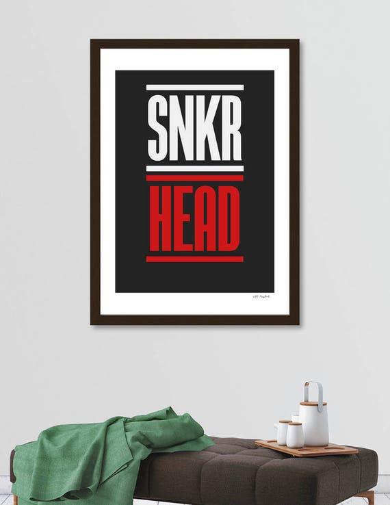 SNKR HEAD | Digital Download | Fine Art Print