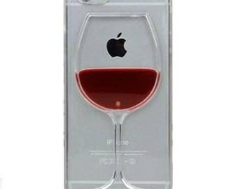 Iphone 7 custom wine glass case