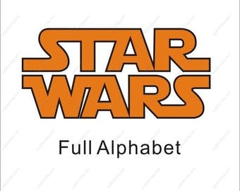 star wars svg, starwars svg, star wars font svg, star wars alphabet svg, star wars svg files