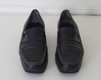 Stephane Kelian Paris Black Loafer 9 Made In France