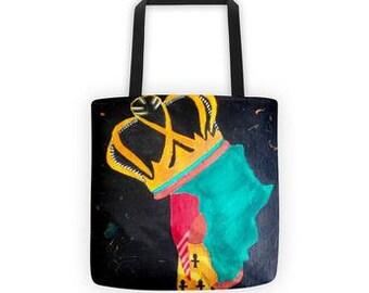 Queen Africa Tote bag