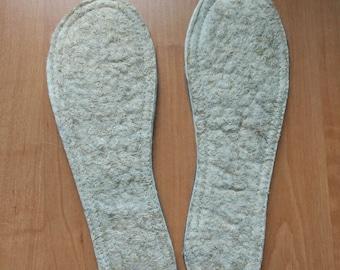 Felt linen insole 1 pair