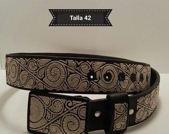 cinturon de pita fina-- belt in pita