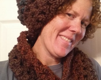 Slouchy Hat and Cowl