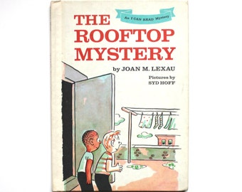 1968 The Rooftop Mystery An I Can Read Mystery by Joan M. Lexau Vintage Children's Book