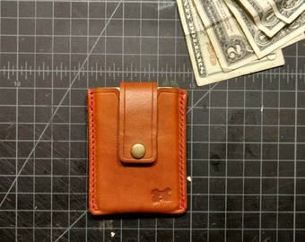 Pull Tab Card Wallet