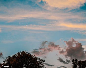 Tennessee Sunset Sky
