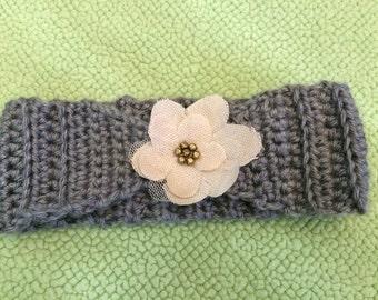 Crochet Headband/Toddler Size
