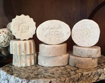 Enriched Goat's Milk with Oatmeal Handmade Soap - Lavender or Citrus Scent