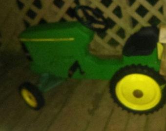 Cast alluminum Ertl pedal car tractor