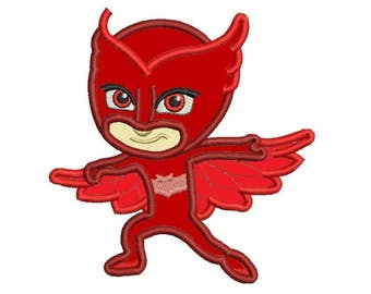 Pj Mask Applique - Owlette