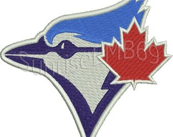 9 Sizes**Toronto Blue Jays Embroidery design- 8 formats machine embroidery design - Instant Download machine embroidery pattern