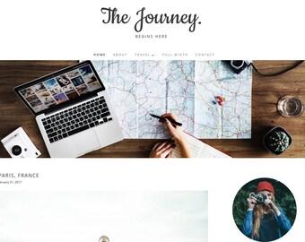 The Journey - Responsive WordPress Theme