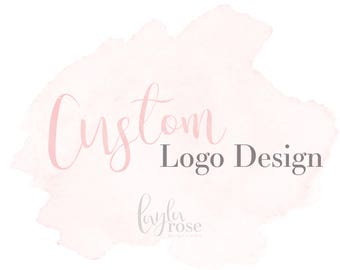 Custom Logo Design, Business Logo, Watermark, Custom Created Logo, Logo Design, Original Logo, Round Logo, Logo Design Package