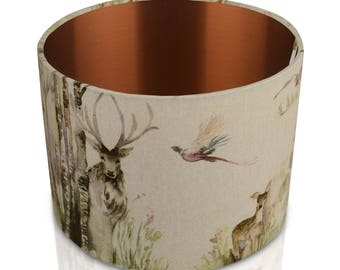 Voyage Maison Enchanted Forest with Brushed Copper  Inner Lampshade , Table Lamp , Pendant Shade