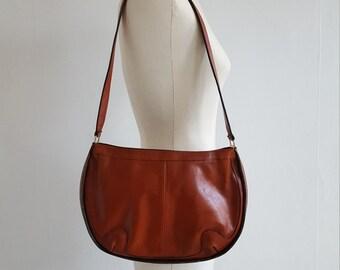 1970s leather purse