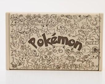 Custom Pokemon Box, Laser engraved