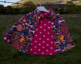 Fairytale forest childrens dress up cape