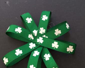 St Patricks Day bows